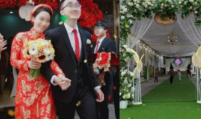 Đúng ngày cưới, tình cũ của cô dâu đến bất ngờ phát ngôn: Anh không cần người đổ vỏ thay song phản ứng của chú rể mới thật sự bất ngờ-1