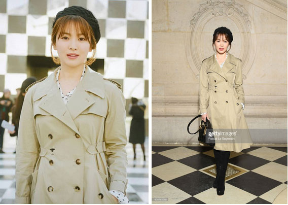 Nghịch lý Song Hye Kyo khi dự Fashion Week: Nhan sắc ngày một đỉnh nhưng style thì lại nhạt dần đều-2