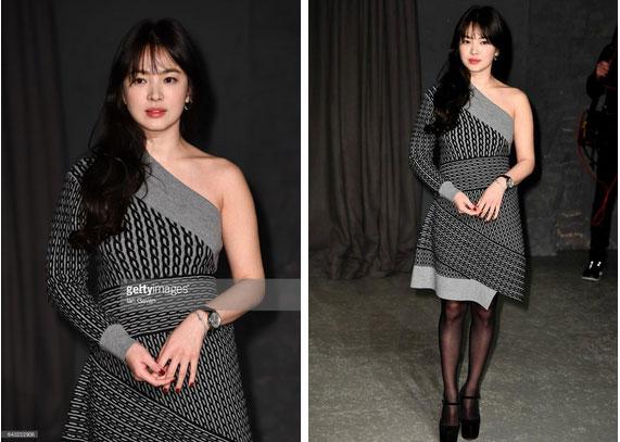 Nghịch lý Song Hye Kyo khi dự Fashion Week: Nhan sắc ngày một đỉnh nhưng style thì lại nhạt dần đều-3