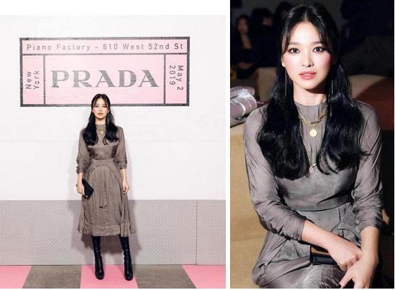 Nghịch lý Song Hye Kyo khi dự Fashion Week: Nhan sắc ngày một đỉnh nhưng style thì lại nhạt dần đều-4
