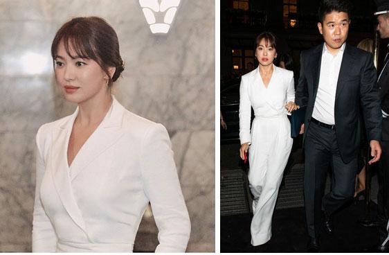 Nghịch lý Song Hye Kyo khi dự Fashion Week: Nhan sắc ngày một đỉnh nhưng style thì lại nhạt dần đều-5