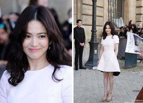 Nghịch lý Song Hye Kyo khi dự Fashion Week: Nhan sắc ngày một đỉnh nhưng style thì lại nhạt dần đều-6