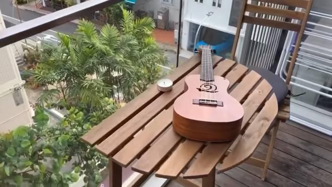MC Hoàng Oanh tiết lộ nhà riêng và cuộc sống lãng mạn với chồng Tây bên Singapore-3