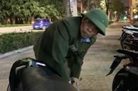 Ông lão bảo vệ bất lực nhìn trộm lấy chiếc SH