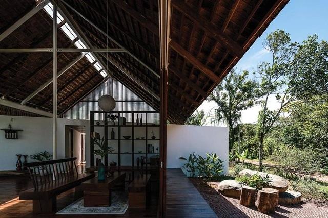 Ngôi nhà cấp 4 ở Đắk Lắk đẹp như resort nhờ thiết kế độc lạ-5