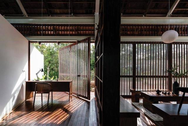 Ngôi nhà cấp 4 ở Đắk Lắk đẹp như resort nhờ thiết kế độc lạ-7