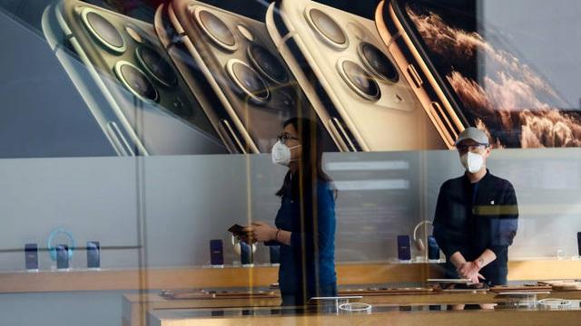 Apple mở lại nhiều cửa hàng ở Trung Quốc bất chấp dịch Covid-19-2
