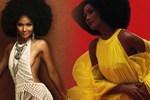 """H'Hen Niê gây lú"""" với hình ảnh cosplay 3 chị em thị phi: Tóc như Kim Kardashian, diện bikini choé đặc sệt Kylie, body lại hot như Kendall-8"""