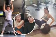 Vợ chồng đồng lòng như Tóc Tiên và Hoàng Touliver: Vừa cưới đã rủ nhau tập luyện ngay để giữ body sau khi 'bung xõa'