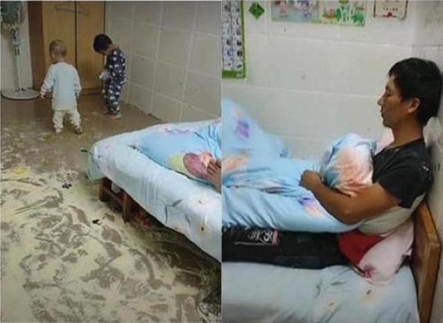 Dặn chồng ở nhà pha sữa cho con, sau 2 tiếng trở về vợ suýt ngất khi nhìn bãi chiến trường trước mắt-2