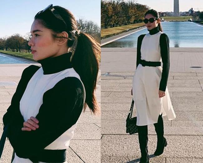 Á hậu Thùy Dung có bao ý tưởng diện váy đẹp xinh và thanh lịch thế này, chị em không tham khảo thì quá phí-5