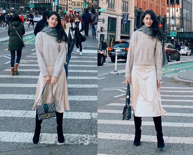 Á hậu Thùy Dung có bao ý tưởng diện váy đẹp xinh và thanh lịch thế này, chị em không tham khảo thì quá phí-6