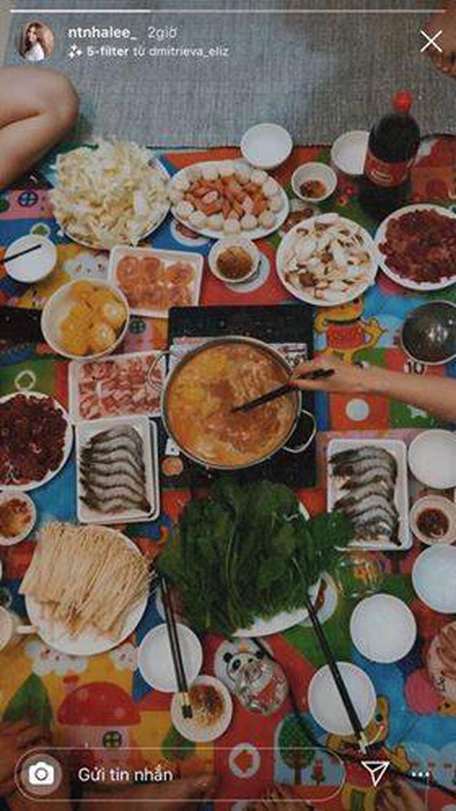 Quang Hải và Nhật Lê tụ tập ăn lẩu cùng bạn bè: Thêm bằng chứng đã quay lại yêu nhau?-2