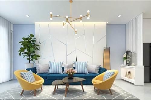 Đón đầu xu hướng với 15 mẫu phòng khách nhà ống 4m đẹp xuất sắc-1