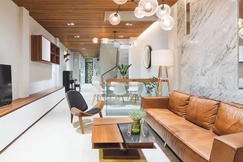 Đón đầu xu hướng với 15 mẫu phòng khách nhà ống 4m đẹp xuất sắc-2