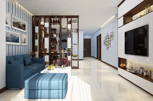 Đón đầu xu hướng với 15 mẫu phòng khách nhà ống 4m đẹp xuất sắc-4