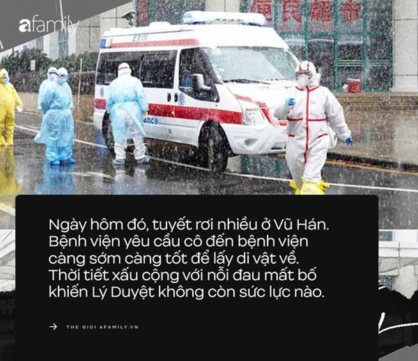 Bi kịch gia đình Vũ Hán: Con gái từ Anh về chăm mẹ bị ung thư, không lâu sau hai bố con nhiễm Covid-19 và nỗi đau chồng chất không ai thấu-6