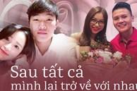 5 chuyện tình 'toang' rồi lại hợp của cầu thủ: Sau tất cả, Quang Hải trở về bên Nhật Lê, Xuân Trường và bạn gái 'yêu lại từ đầu'