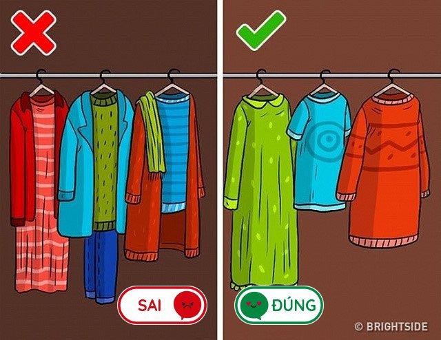 8 lỗi sai mà ai cũng làm khi cất quần áo vào tủ, lấy ra nhàu nhĩ như giẻ lau-2
