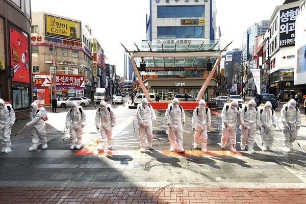 Hàn Quốc thêm 256 ca nhiễm virus corona, tổng số 2.022-1