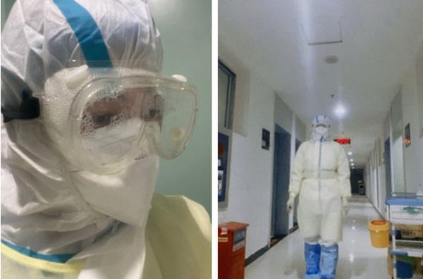30 ngày trong vùng cách ly của một nữ y tá chiến đấu nơi tâm dịch virus corona: Cạo trọc, đóng bỉm, và những ngày đến kỳ thảm họa-1