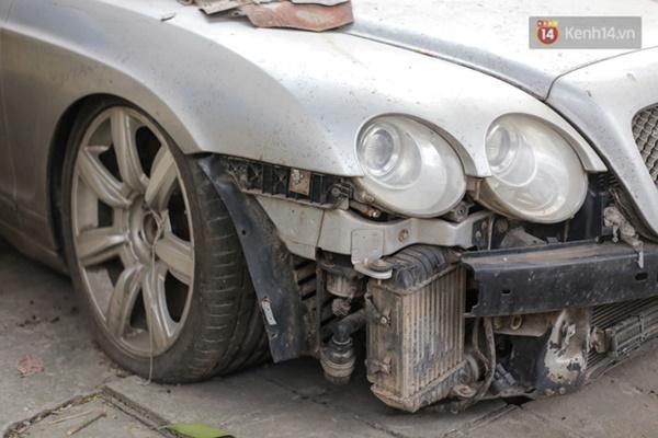 """Siêu xe Bentley 20 tỷ nằm xếp xó"""" trên vỉa hè Hà Nội, hơn 5 năm qua không ai biết chủ nhân ở đâu-3"""
