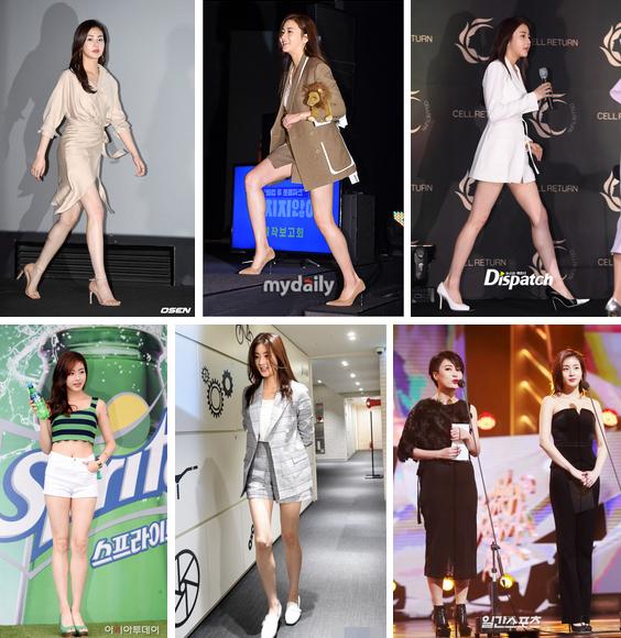 Tình cũ của Huyn Bin: Từ cô nàng mặc váy chật đến bục chỉ trên thảm đỏ và màn lột xác giảm 20kg, trở thành mỹ nhân có đôi chân đẹp nhất xứ Hàn-6