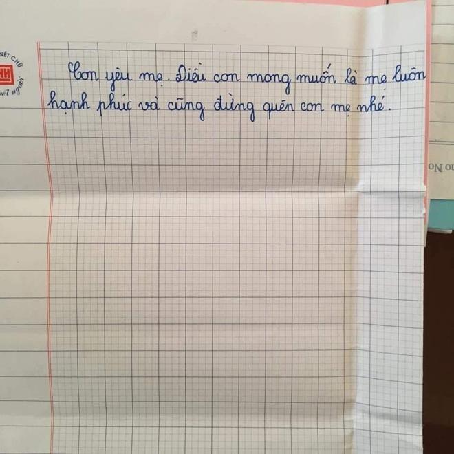 Sự thật về lá thư của học sinh lớp 5 đang gây bão mạng Con mong mẹ hiểu, mẹ còn đứa con gái đang sống cùng bà nội-3