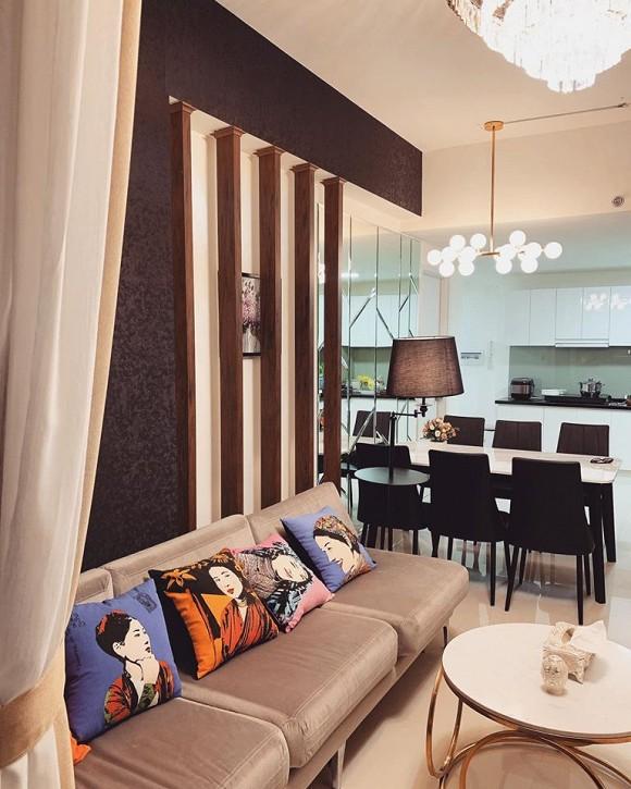 Không gian ấm cúng trong căn hộ của Hoa hậu Thiên Hương-2