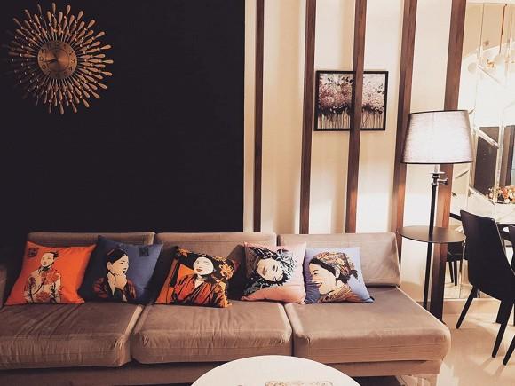Không gian ấm cúng trong căn hộ của Hoa hậu Thiên Hương-3