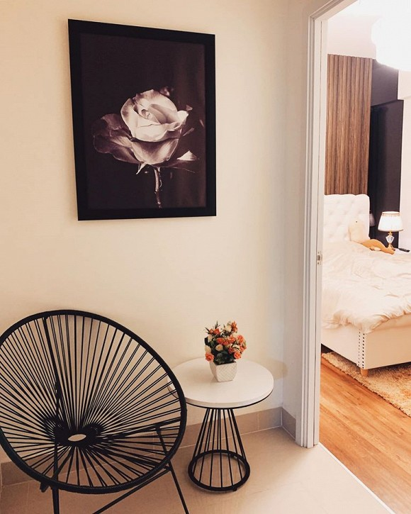 Không gian ấm cúng trong căn hộ của Hoa hậu Thiên Hương-4