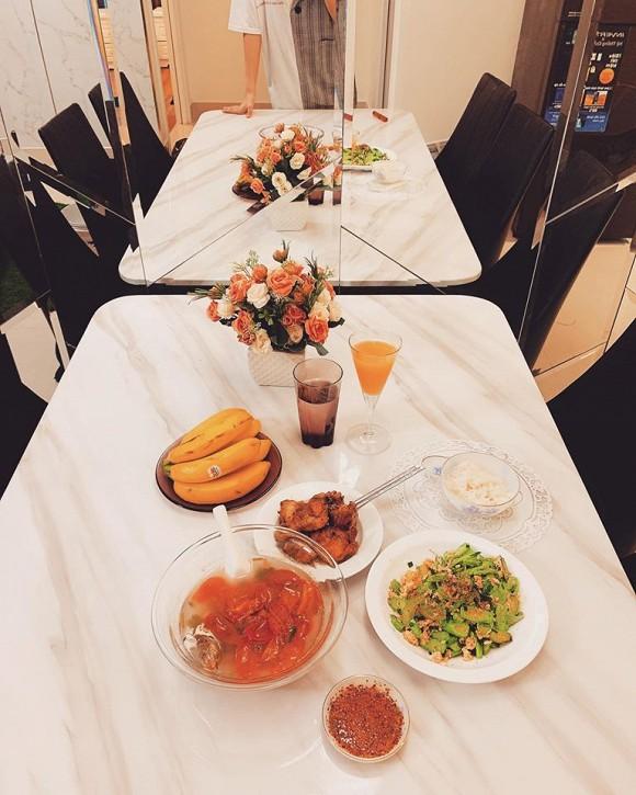 Không gian ấm cúng trong căn hộ của Hoa hậu Thiên Hương-6