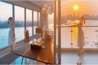 Lệ Quyên hé lộ nhà mới siêu đẹp của Lê Hiếu, view ngắm hoàng hôn 'như bay trên biển'