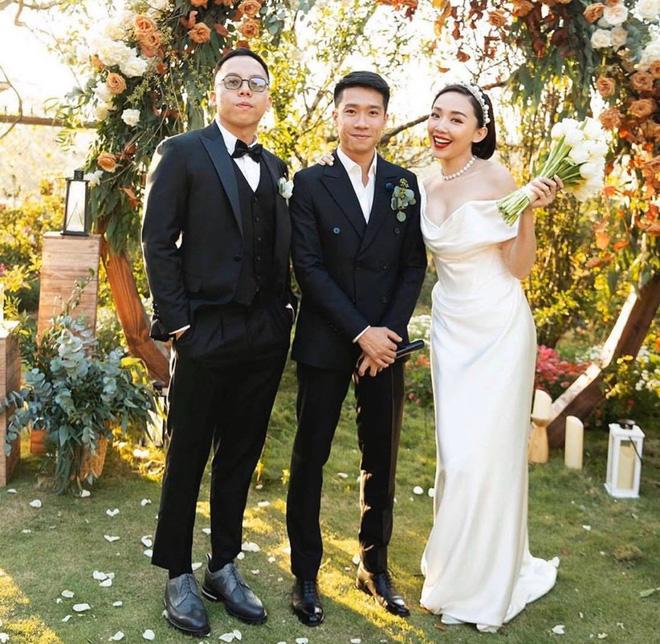 Loạt ảnh cực hiếm trong đám cưới Tóc Tiên - Hoàng Touliver cuối cùng cũng được hé lộ: Mọi khoảnh khắc hạnh phúc nhất đều có đủ!-4