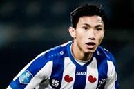 Văn Hậu không được vào sân dù hàng thủ Heerenveen chơi tệ