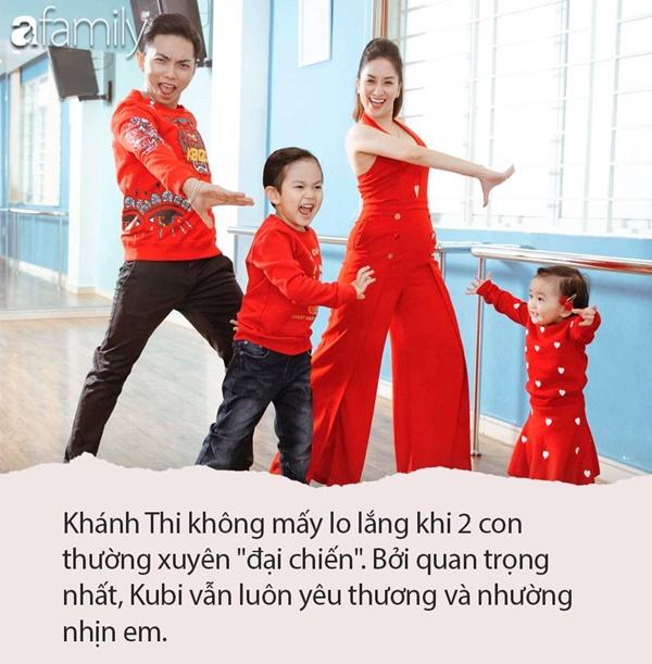 Siêu quậy Kubi nhà Khánh Thi - Phan Hiển bị em gái bắt nạt, cậu bé giận dỗi nói 1 câu khiến ai cũng phải phì cười-6