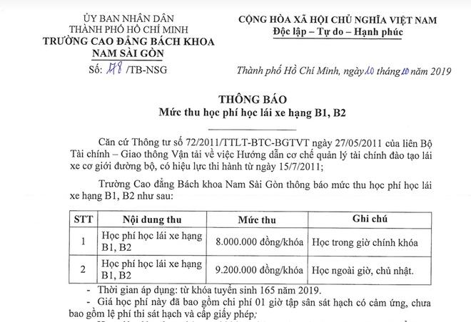 Học phí lái xe tăng gấp 2 lần tại Thành phố Hồ Chí Minh-1