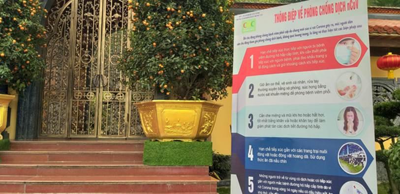 Bộ Y tế thông tin về việc cách ly tại chùa đối với những người đi qua hoặc đến từ vùng dịch nhập cảnh vào Việt Nam-4