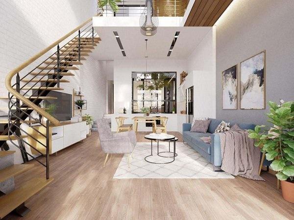 Các mẫu cầu thang nhà ống 5m tối giản mà hiện đại cho ngôi nhà của bạn-6