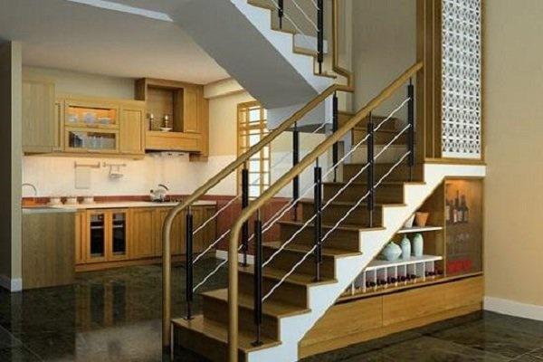 Các mẫu cầu thang nhà ống 5m tối giản mà hiện đại cho ngôi nhà của bạn-9