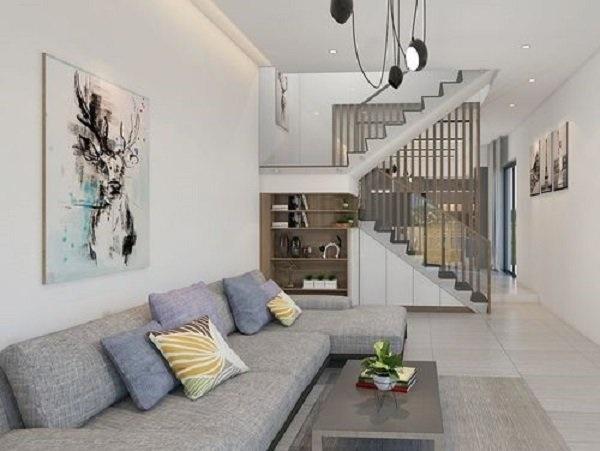 Các mẫu cầu thang nhà ống 5m tối giản mà hiện đại cho ngôi nhà của bạn-10