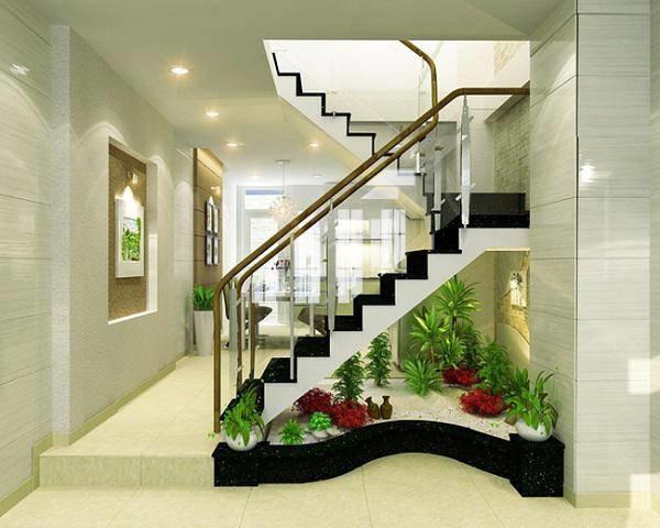 Các mẫu cầu thang nhà ống 5m tối giản mà hiện đại cho ngôi nhà của bạn-13