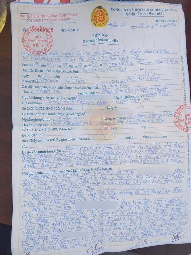 Thầy giáo bị kiểm điểm vì bán 20 khẩu trang lãi 8.000 đồng: Mình sai thì phải nhận sai thôi-3