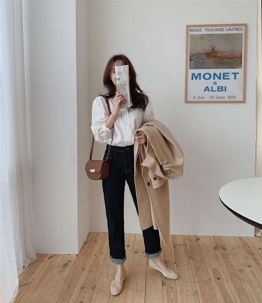 Xin giới thiệu đến chị em kiểu giày búp bê hot nhất lúc này, diện với quần jeans hay váy vóc cũng đều đẹp mê-4