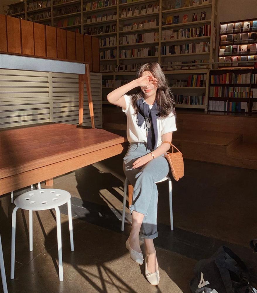 Xin giới thiệu đến chị em kiểu giày búp bê hot nhất lúc này, diện với quần jeans hay váy vóc cũng đều đẹp mê-8