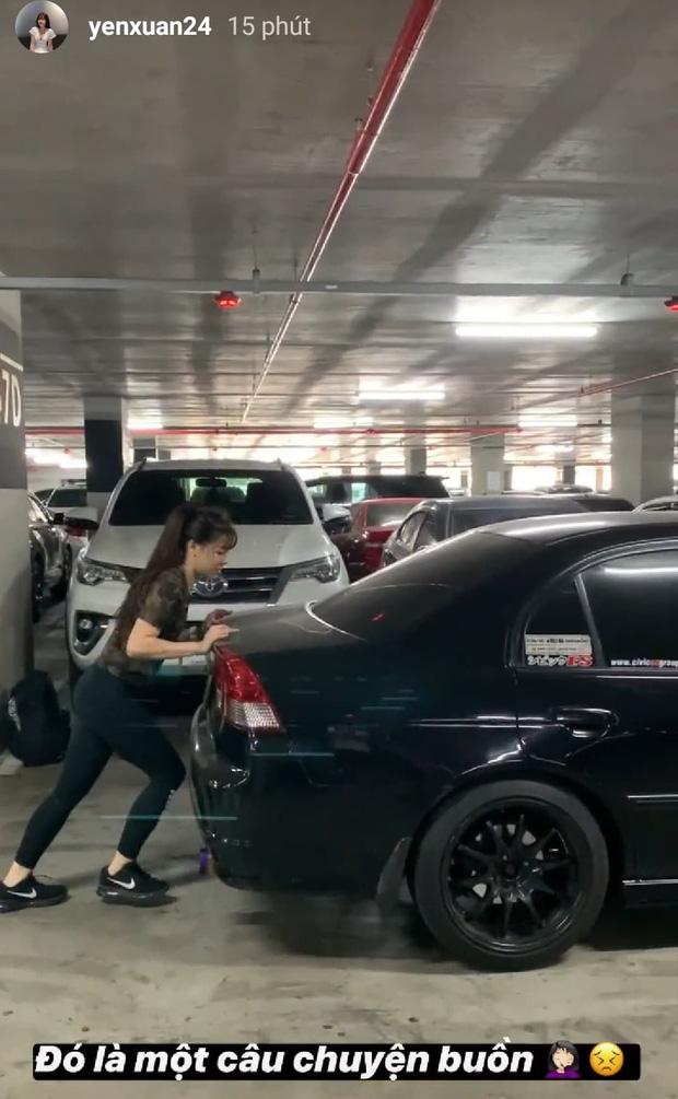 Mặc Văn Lâm ngăn cản, Yến Xuân vẫn chơi dại dùng tay không đẩy ô tô rồi nhận cái kết đắng-1