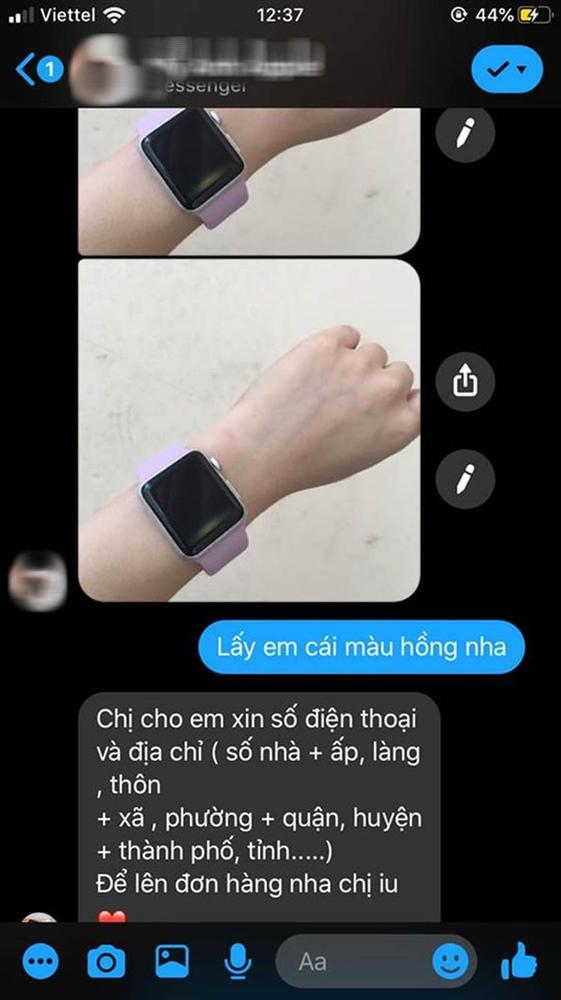 Đặt mua đồng hồ thông minh trên mạng, cô gái bức xúc nhận về đồng hồ khác hoàn toàn hàng đã đặt, phản hồi của chủ shop online càng gây ức chế-2