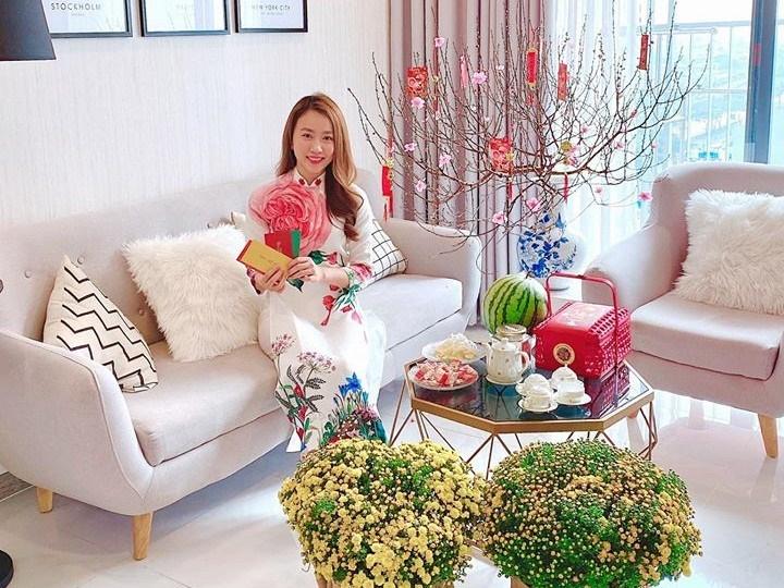 Hé lộ căn hộ cao cấp của diễn viên Hồng Loan hẹn hò cầu thủ Tiến Linh-4