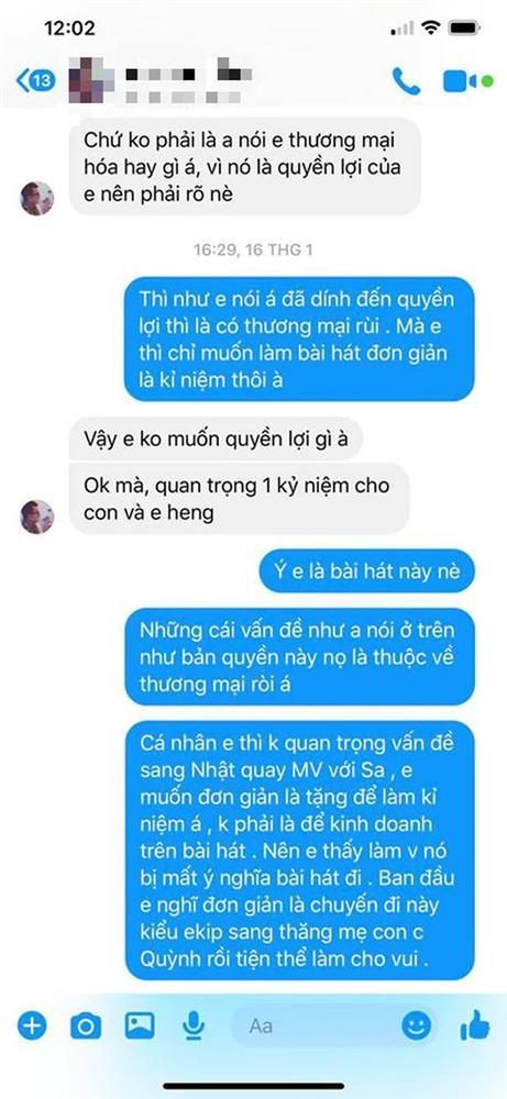 LyLy đáp trả ekip Quỳnh Trần JP việc bị tố vô trách nhiệm, cho rằng MV Chẳng thể rời Sa đã bị thương mại hoá và nghi ngờ có người tác động-2