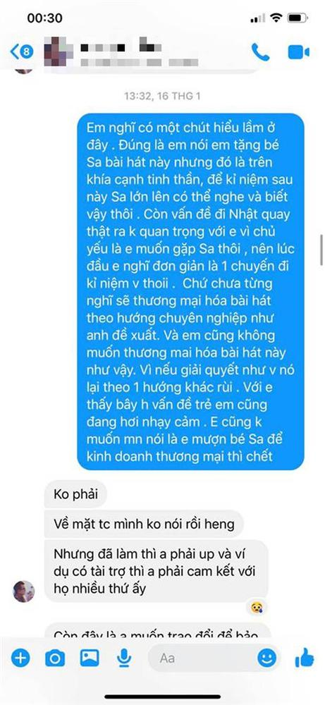LyLy đáp trả ekip Quỳnh Trần JP việc bị tố vô trách nhiệm, cho rằng MV Chẳng thể rời Sa đã bị thương mại hoá và nghi ngờ có người tác động-4